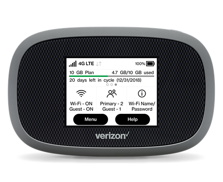 Verizon Hotspot for Highspeed Cellular Streaming