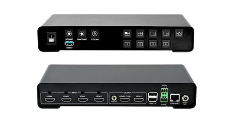 Spider Streaming Video Encoder and Switcher from DiscoverVideo