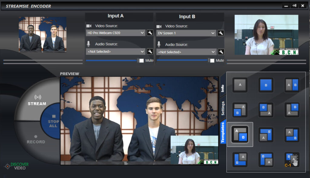 Streamsie Software Encoder for DiscoverVideo Enterprise Platform