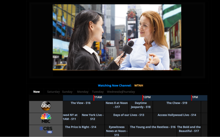 Private IPTV Distribution & TV Guide from DiscoverVideo